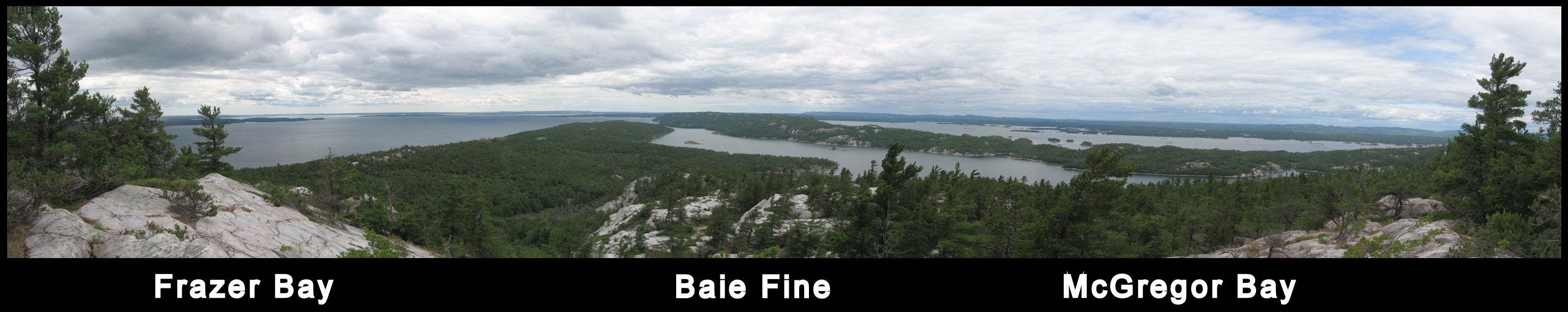 Hike To The Top Of Frazer Bay Hill